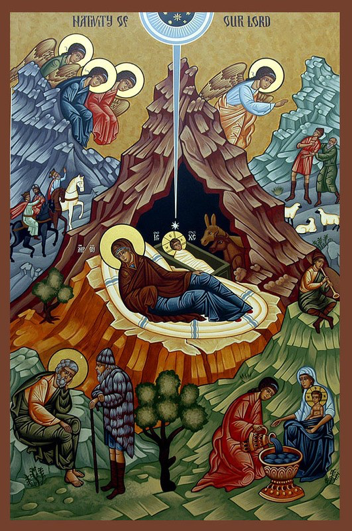 Image result for nativity of the lord icon