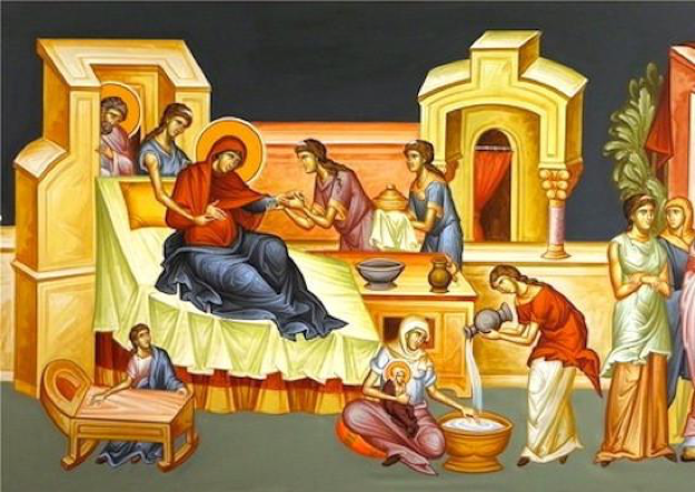 Image result for nativity of mary icon