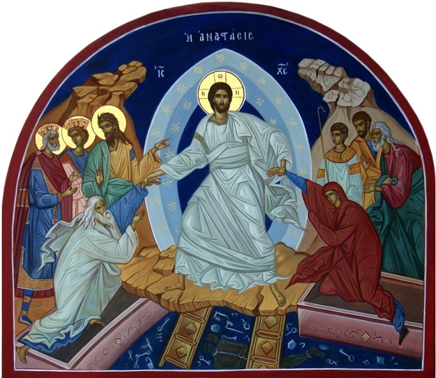 Image result for icon of resurrection